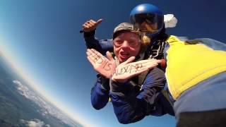 Lake Taupo Skydive 15,000ft
