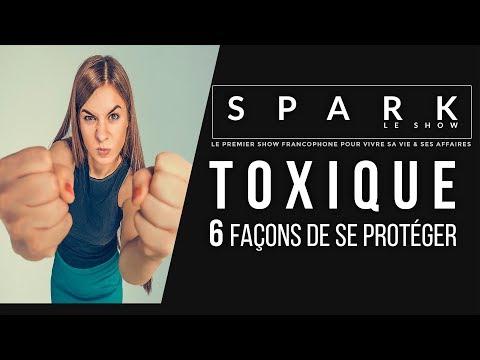 Attention personnes toxiques: 6 Façons de se protéger I Franck Nicolas