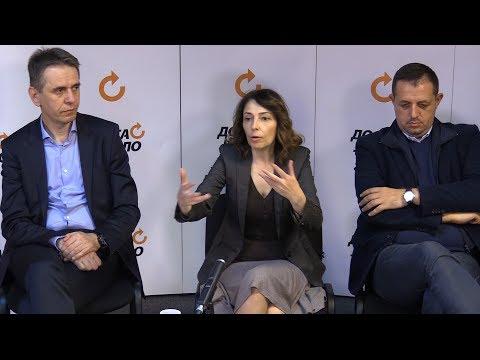Tribina DJB: Vlast opstaje samo pomoću medijskog mraka i podrške licemerne EU