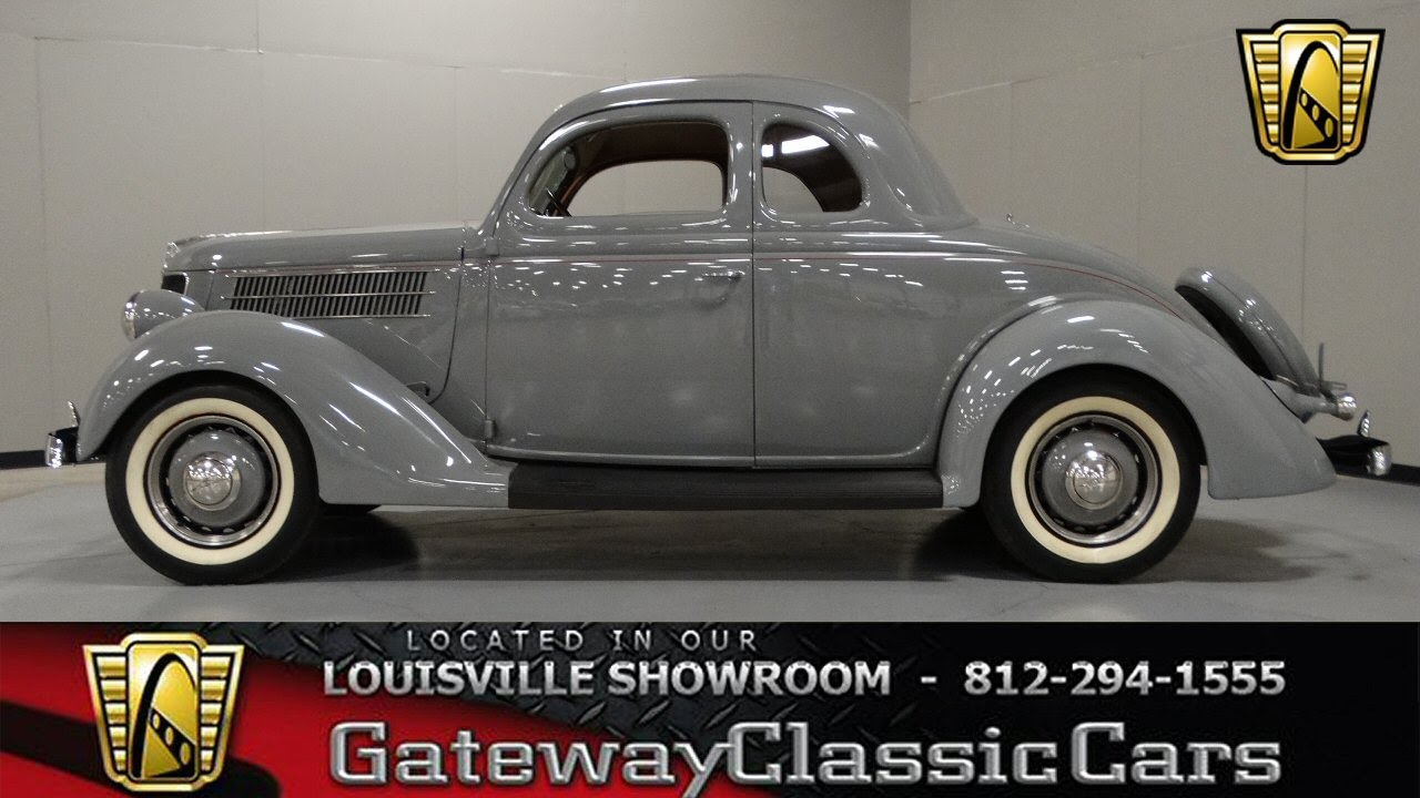 Ford Louisville Ky >> 1936 Ford 5 Window Coupe Stock # 833 located in our Louisville Showroom - YouTube