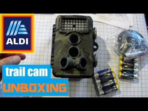 ✔unboxing Aldi wildlife camera -WK4 HD Maginon