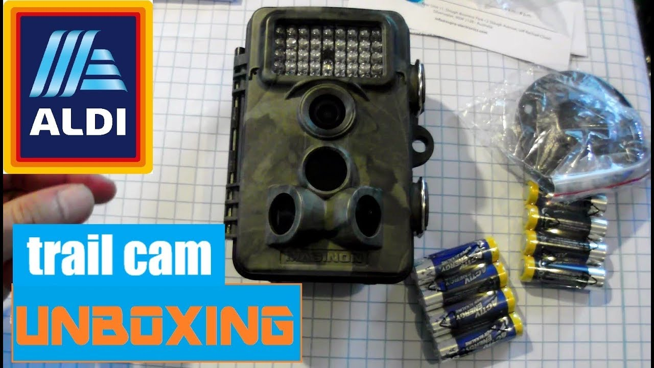 Camera De Surveillance Exterieur A Vendre Unboxing Aldi Wildlife Camera Wk4 Hd Maginon