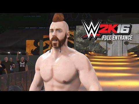 WWE 2K16 Sheamus Entrance (WWE 2K16 World Premiere)