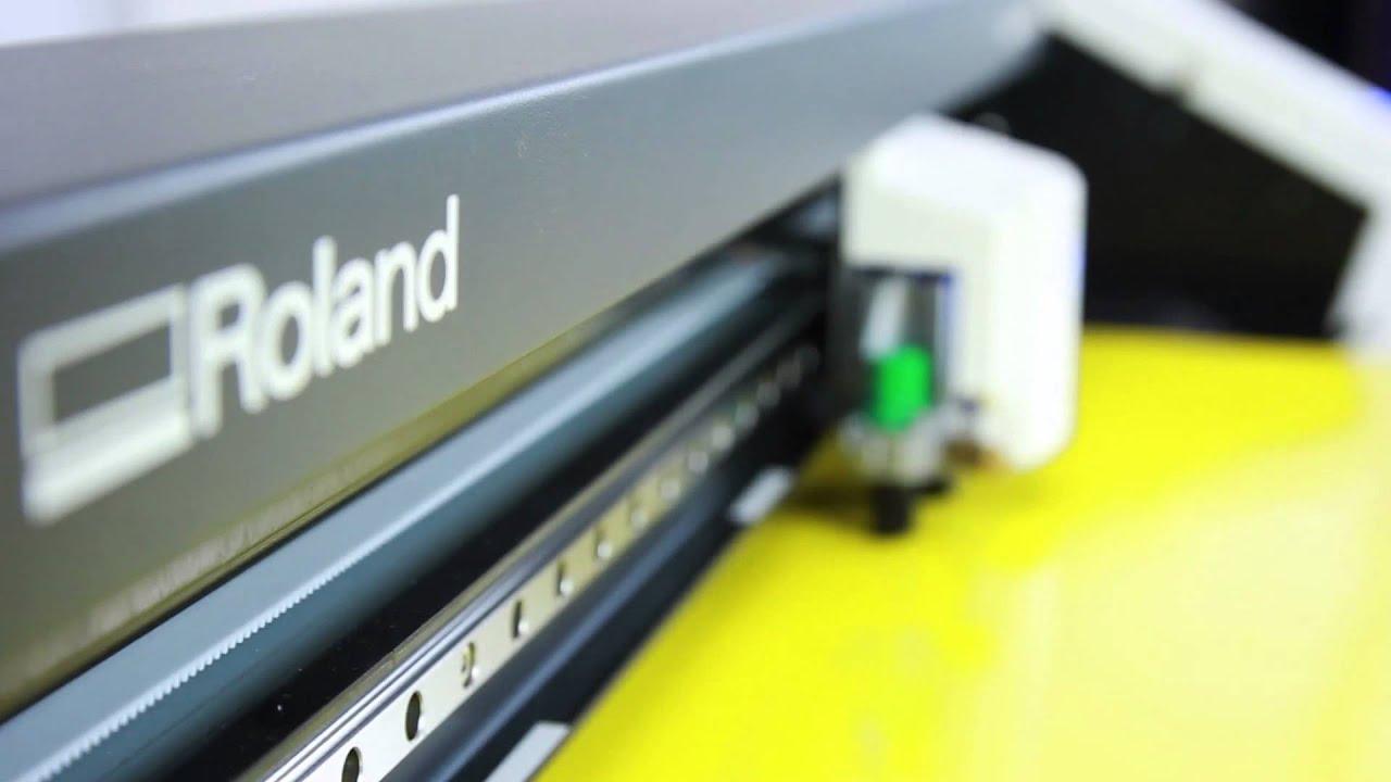 Roland Camm1 Gs 24 Desktop Cutter Youtube
