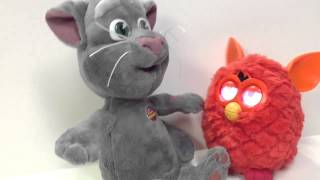 Furby Chats with Talking Tom