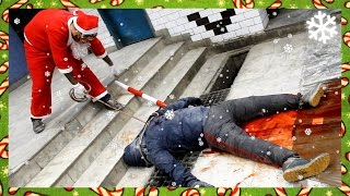 gta 5 christmas dlc new game beast vs slasher gta online funny moments with the crew
