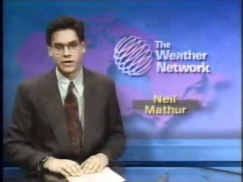 The Weather Network - Recorded In Oshawa On Sunday July 4th 1993