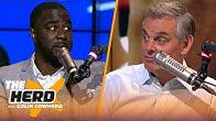 Chris Haynes talks his 1-on-1 interview with Kawhi Leonard, lists Top 5 WC teams | NBA | THE HERD