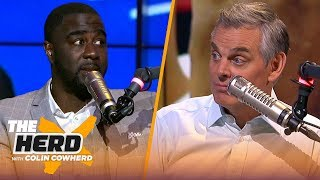 Chris Haynes talks his 1-on-1 interview with Kawhi Leonard, lists Top 5 WC teams | NBA | THE HERD