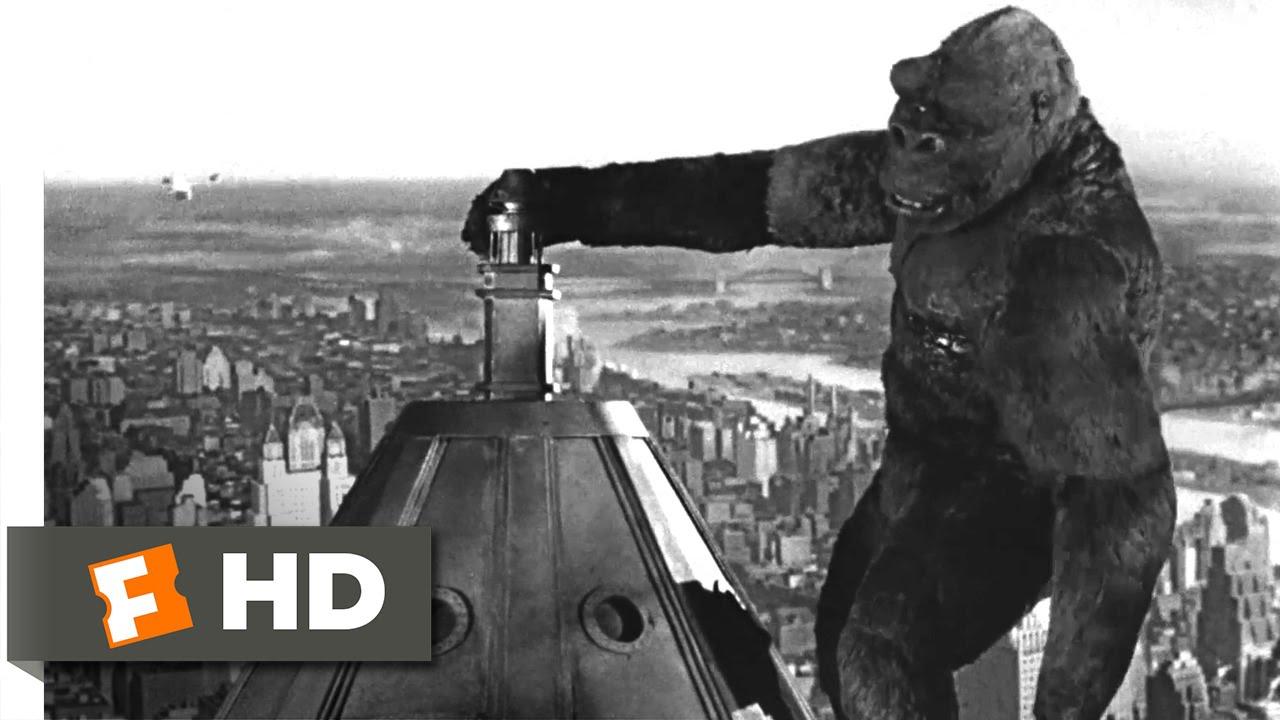 King Kong 1933 Beauty Killed The Beast Scene 1010 Movieclips
