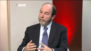 Guido Mantega x Armínio Fraga debatem no GloboNews 09/10/2014