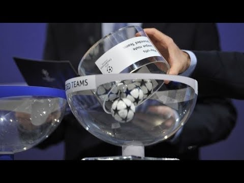 LIVE UEFA CHAMPIONS LEAGUE SEMI FINAL DRAW 2018
