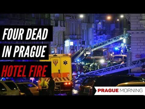 Prague Hotel Fire Leaves Four Dead