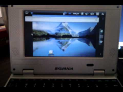 Install Android Froyo On Sylvania Smartbook