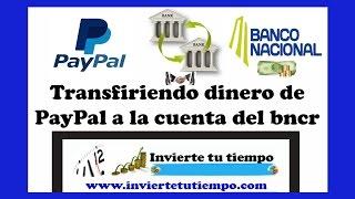 Video Como transferir los fondos de PayPal al banco /convenio BNCR y PayPal download MP3, 3GP, MP4, WEBM, AVI, FLV Agustus 2018