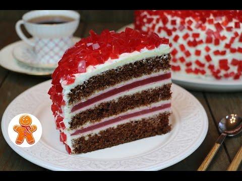 Торт 'Рубиновый' очень