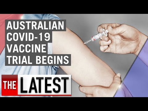 Coronavirus: Human trials for COVID-19 vaccine begin in Adelaide | 7NEWS