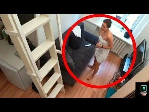Cette Femme De Ménage Ne Savait Pas Qu'il Y Avait Une Caméra, Voilà Ce Qu'elle A Fait
