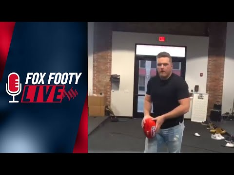 Pat McAfee recently Tweeted a video of him kicking an Australian football after getting interested in the AFL. Hawthorn legend Dermott Brereton then gave his analysis of McAfee's kicking technique on Fox Footy in Australia.