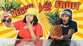 FRUIT VS VEGETABLE FOOD CHALLENGE!