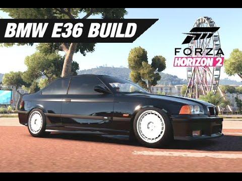 Forza horizon 2 drift build bmw m3 e36 doovi for Garage bmw horizon