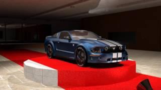 Ford Mustang Turnaround