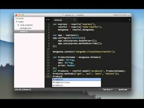 Build a RESTful API in 5 Minutes with NodeJS