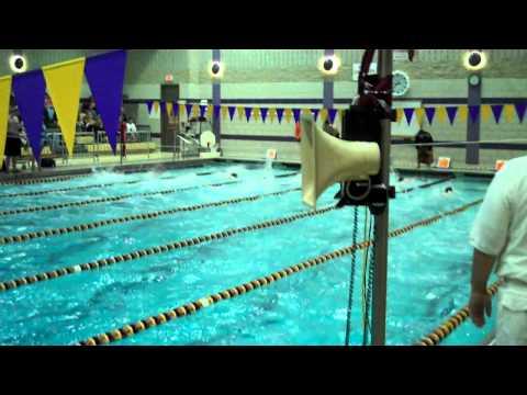 50 Free Ballston Spa Boys Swimming vs. Saratoga - Heat 2