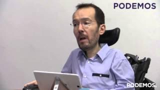 Pablo Echenique presenta los resultados de la consulta