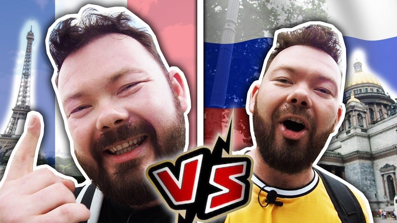 PARIS VS ST-PÉTERSBOURG - Daniil le Russe