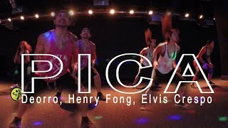 Deorro, Henry Fong  Elvis Crespo - Pica. / Merengue zumba choreo by Jose Sanchez