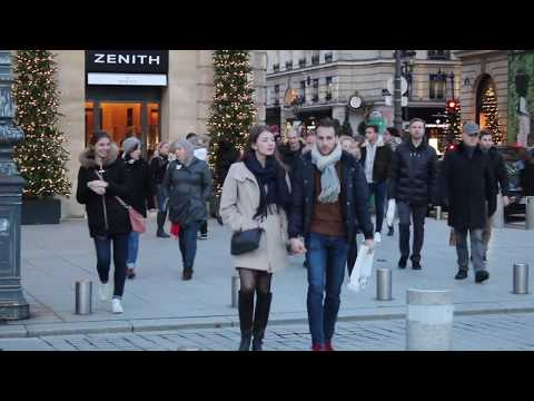 Paris During Christmas. Glamour, Glitz, Style And Fashion In The City Of Light.