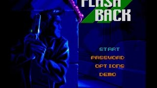 SNES Longplay [093] Flashback: The Quest for Identity