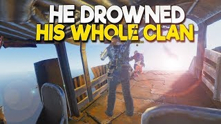 This INCOMPETENT PILOT DROWNED His WHOLE CLAN (Rust) Part 5/5