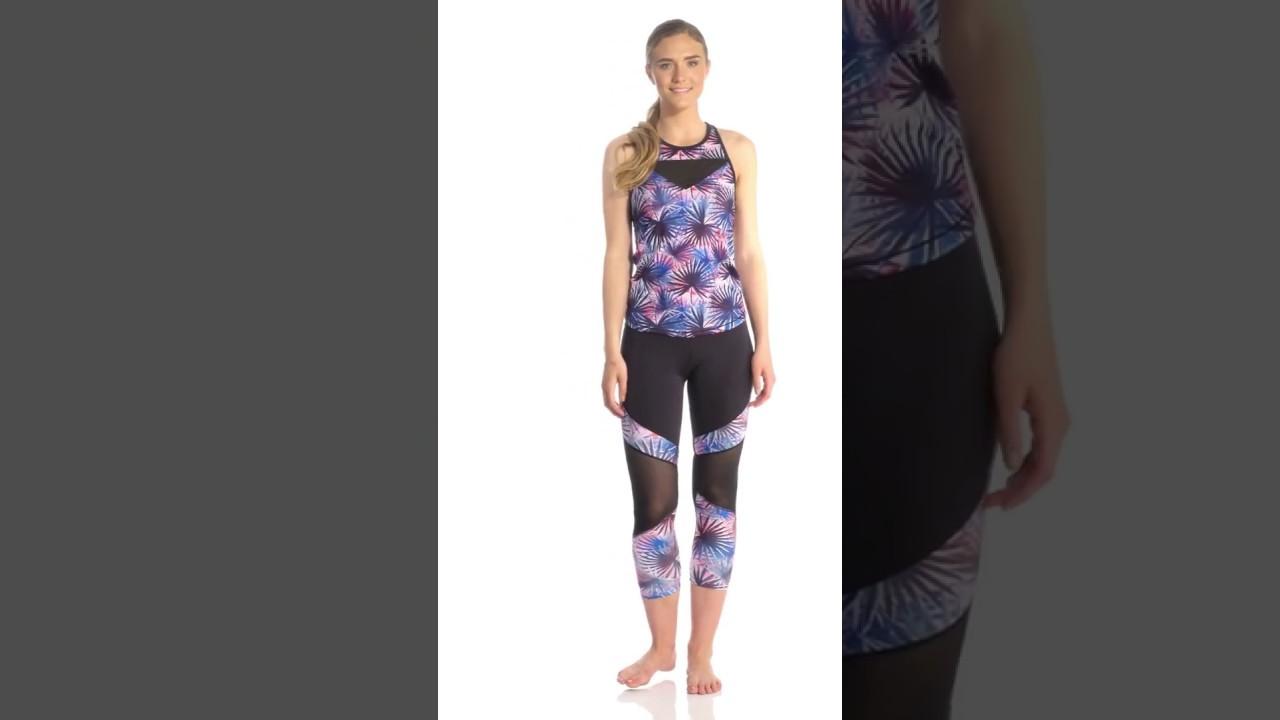Pink Lotus Movement Exotic 7 8 Yoga Leggings Swimoutlet Com Youtube