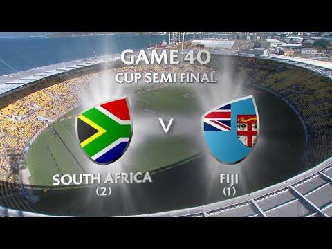 South Africa Vs Fiji Semi Finals Wellington 7's 2016
