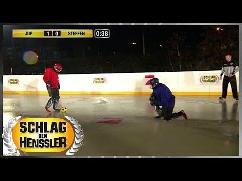 Spiel 9 - Eisfußball - Schlag den Henssler