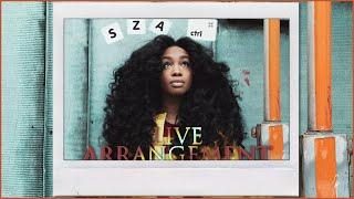 SZA Ctrl Live Arrangement - UPnext #weUPnext
