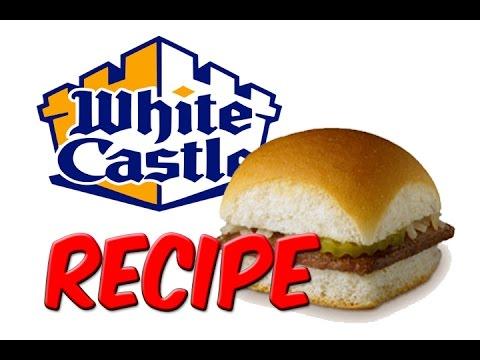 RECIPE – White Castle Sliders