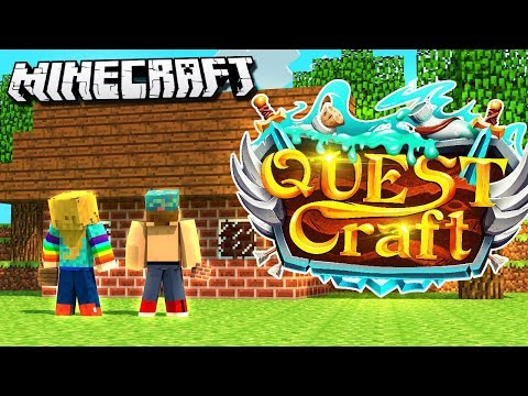 STARTING OUR NEW HOME! | Quest Craft #2