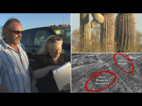 VIDEO: Phoenix area couple claims they were sold wrong piece of land