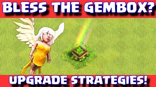 "Clash Of Clans ""BLESS THE GEMBOX"" Townhall 6-8 Defense Farming Strategies And Base Builds"
