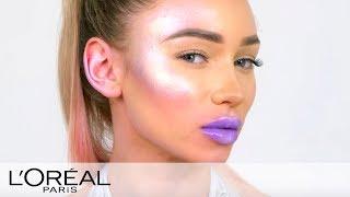 Galactic Space Girl Halloween Makeup Tutorial - L'Oreal