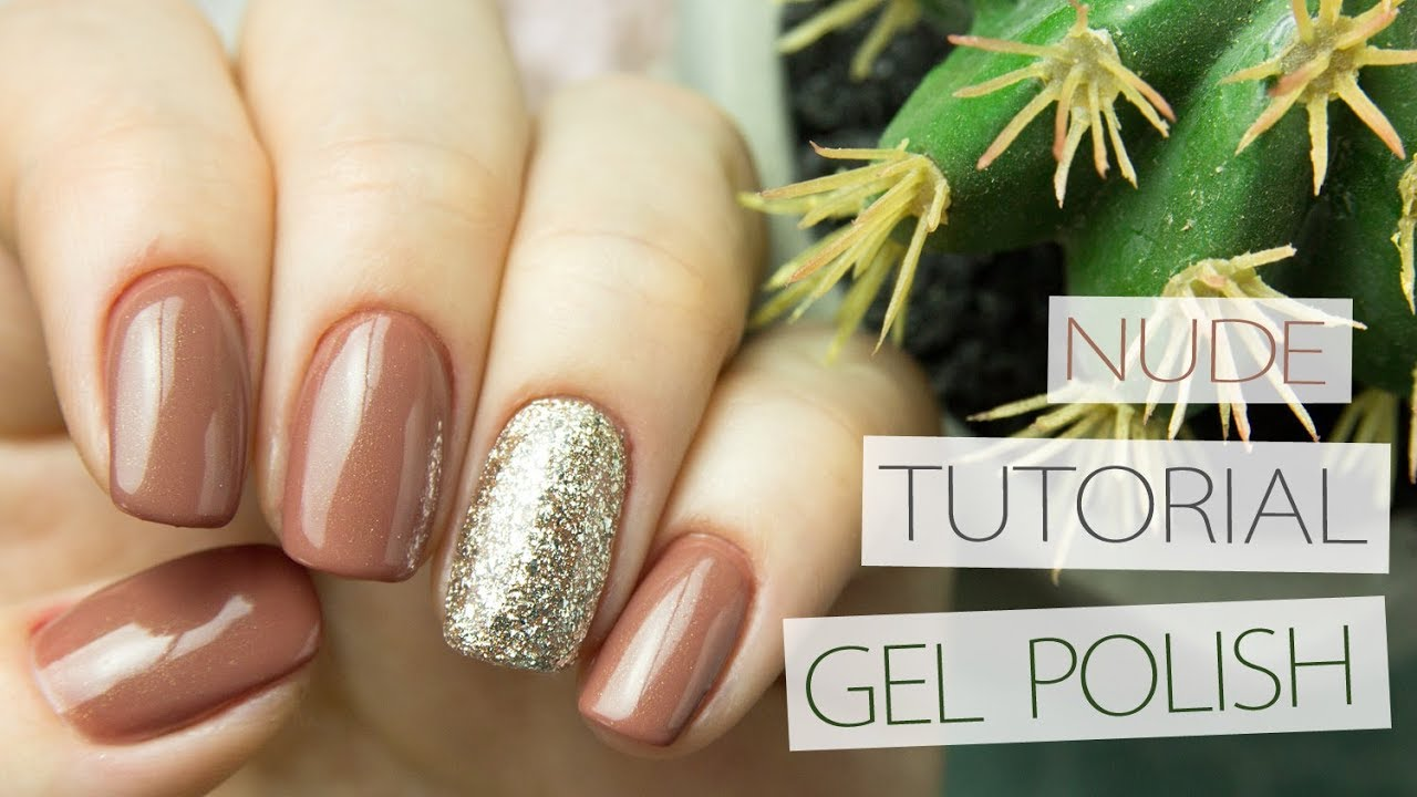 How to Apply Gel Polish on Natural Nails   Education for Beginner ...