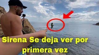 SIRENA REAL  ATACA A HOMBRE Y LO GRABARON (sirenas reales)