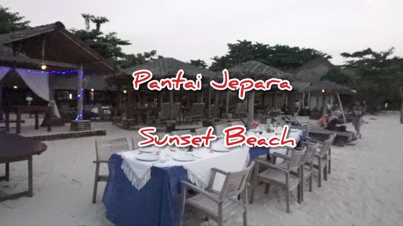 Wisata Pantai Pasir Putih Jepara Sunset Beach Resort And Hotel Vlog5