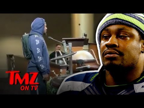 Marshawn Lynch Begs Oakland City Council To Not Lose The A's | TMZ TV