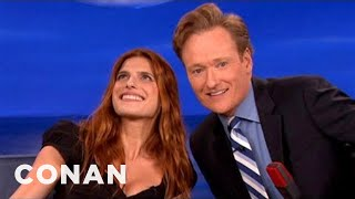 Lake Bell Interview Part 1 09/12/12 - CONAN on TBS