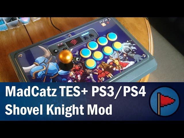 The Platformers - MadCatz PS3/PS4 SFV TES+ Fight Stick Mod