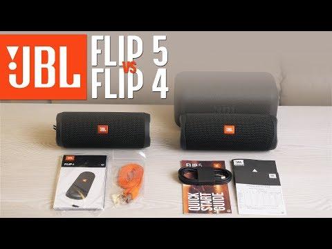 JBL Flip 5 Vs JBL Flip 4 - Unboxing & Short TEST